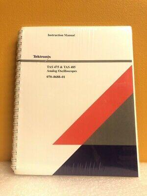 Tektronix 070-8688-01 Tas 475 Tas 485 Analog Oscilloscopes Instruction Manual