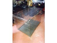 XX Large brown dog cage
