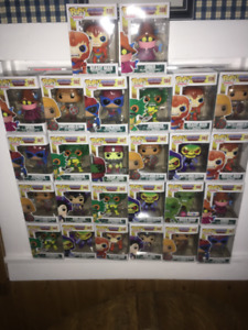 FUNKO POPS TV HE-MAN MASTERS OF THE UNIVERSE !!!