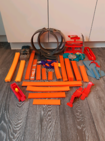 Hotwheels track and accessories