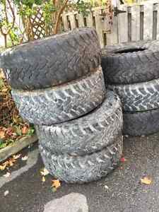 """8 37"""" Toyo M/T open country tires"""