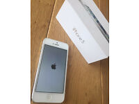 White iPhone 5 16GB unlocked