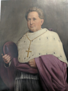 Antique Painting of Cardinal