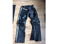motorcycle motorbike leather jeans