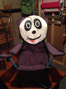 Kids Panda Lawn Chair