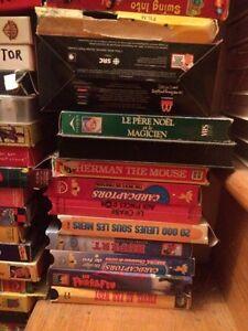 Très gros lot - cassette VHS variés. Faites vos offres. West Island Greater Montréal image 6
