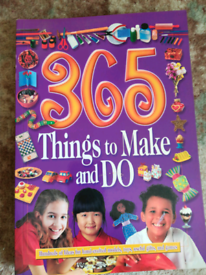 Things to make and do book Unused