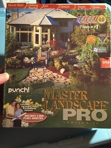 Master Landscape Pro version 10
