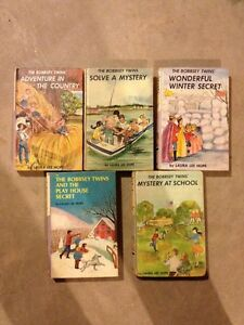 THE BOBBSEY TWINS - old copies $5.00 each
