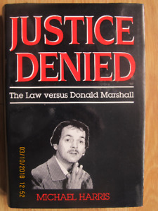 JUSTICE DENIED by Michael Harris 1986