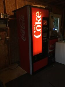 Coca Cola can machine