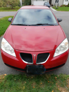 2007 Pontiac G6 V6 $2000 or Best Offer LOW KM!!!