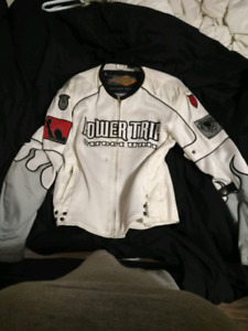 Small power trip motorcycle jacket