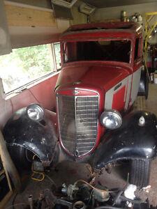 Rare 1936 panel truck