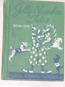 1950s school textbook: Jolly Number Tales, Book One