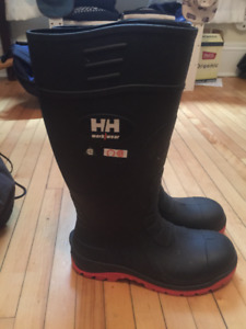 Helly Hansen Steel Toe Rubber Boots NEW