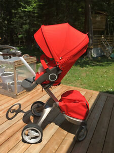 STOKKE XPLORY RED + SUMMER AND WINTER KIT