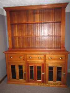 Antique Buffet & hutch