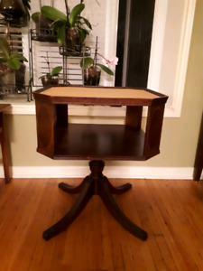 Square antiques games table
