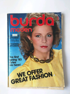 Vintage Burda Magazines Sewing