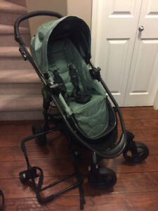 baby jogger versa stroller,adapter&chicco car seat