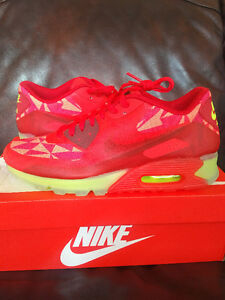 Nike Air Max 90 Ice Gym Red jordan adidas Size 10