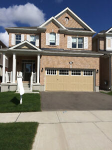 1-year old 3-Bedroom Detached Home Backing onto Park.