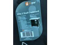 Hi gear 3 shelf cupboard