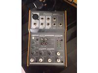 Tapco portable mixer - mix 50
