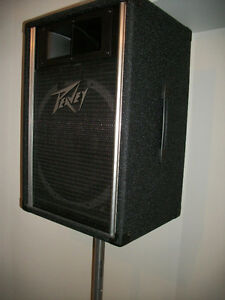 PEAVEY SPEAKERS ** ELECTRO-VOICE SPEAKERS ** STANDS **