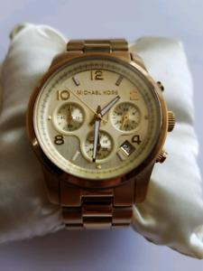 Gold Michael Kors Watch For Women