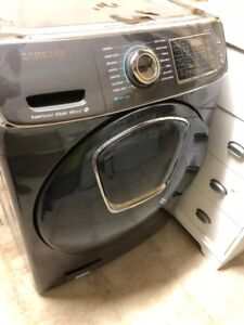Samsung washer and a dryer