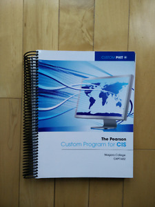 The Pearson Custom Program for CIS
