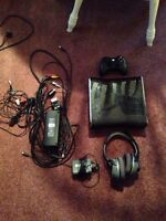 Xbox 360 slim 250GB with Controller and Turtle Beach headset