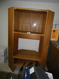 Large Teak Shelving Unit