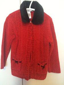 """Velour sweater """"super condition"""""""