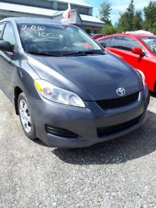 2010 Toyota Matrix  hatch back