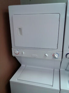 """WASHER AND DRYER STACKABLE ELECTROLUX HEAVY DUTY 27"""""""