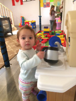 Baby/toddler spot available immediately