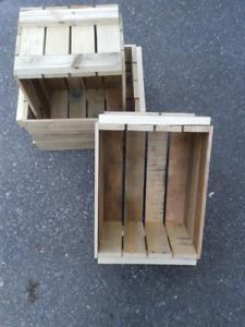 3/4 Bushel (25 litre) produce crates