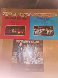 vinyl records by Showaddywaddy