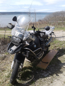 BMW R1200 GSA 2008.  War horse with lots of character