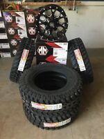 "Chevy Silverado/F-150 17"" Mud Tire and Rim Package"