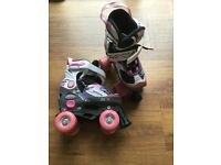 Girls roller skates for size 11-13