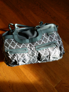 JJ Cole Diaper Bag with Extras!