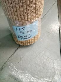Basket weave sisal type flooring (free delivery)
