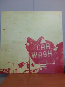 Elephant Car Wash Print