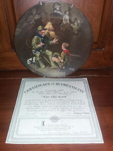3 Rockwell Plates - Boy Scouts London Ontario image 1