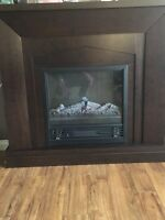 Electric fireplace great condition