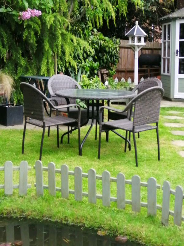garden furniture table and chairs rattan   in Chatham ...